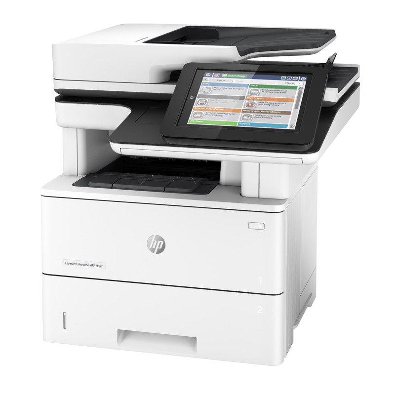 Image of HP Laserjet Enterprise M527dn A4 Multi-Function Mono Laser Printer
