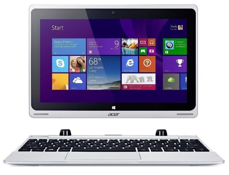 "Image of Acer Aspire Switch 10 Convertible Laptop, Intel Atom Z3735, 2GB RAM, 32GB Flash, 500GB HDD, 10.1"" FHD IPS, WIFI, Webcam, Bluetooth, Windows 8.1"