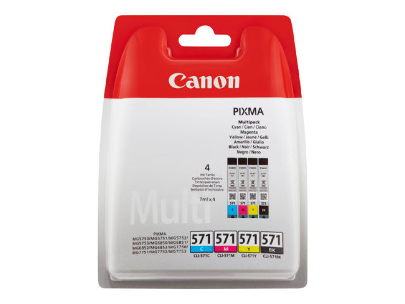 Canon CLI-571 Ink Cartridges Multipack