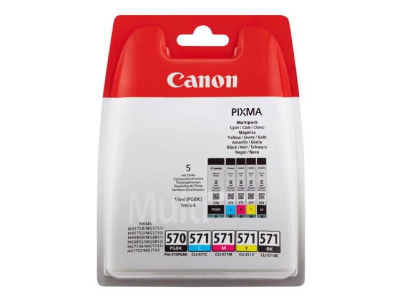 Canon Multipack PGI-570/ CLI-571 Ink Cartridges