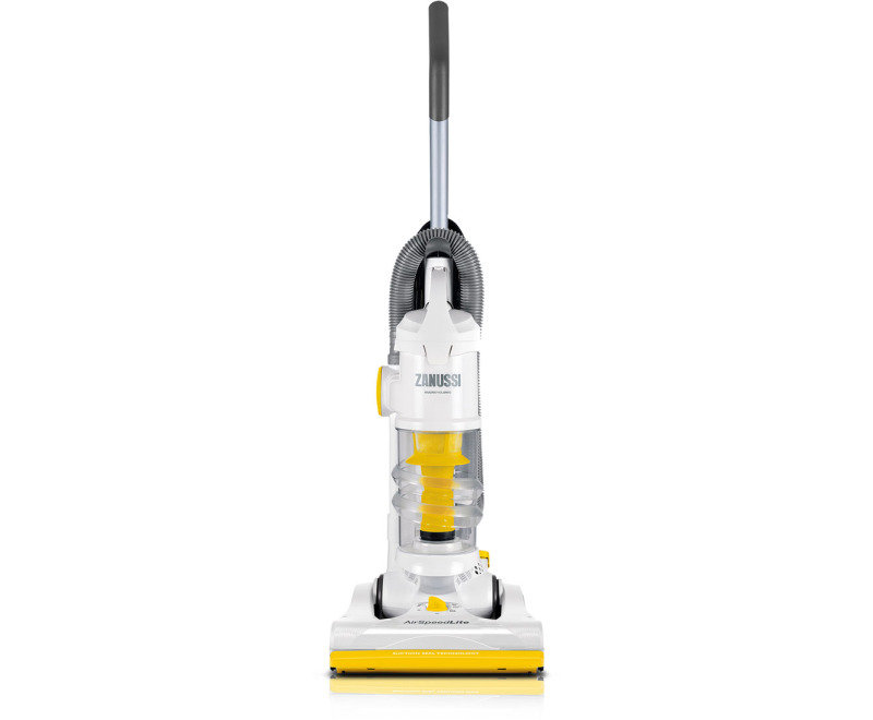 Zanussi Airspeed Lite White Yellow Bagless Upright Vacuum Cleaner Review