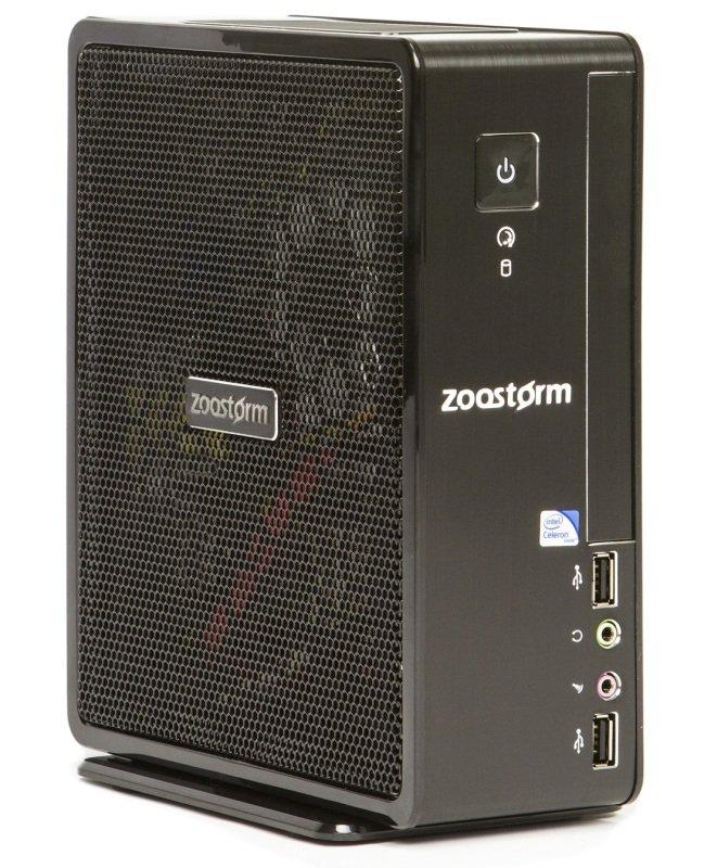 Zoostorm Delta Pico Desktop PC Intel Celeron 1037U 1.8GHz 4GB RAM 500GB HDD NoDVD Intel HD Windows 10 Home  72600140
