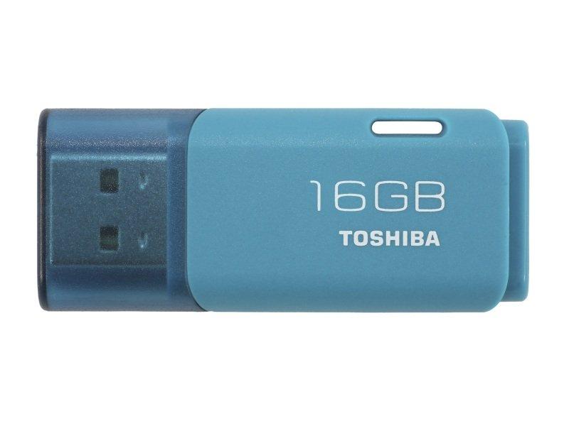 Toshiba 16GB TransMemory U202 USB Flash Drive - Aqua