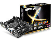 ASRock FM2A68M-HD+ Socket FM2+ VGA DVI-D HDMI 5.1 CH HD Audio Micro ATX Motherboard