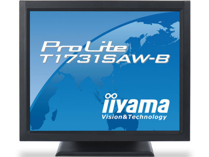 Iiyama T1731SAWB1 Touchscreen LCD 17&quot DVI Monitor
