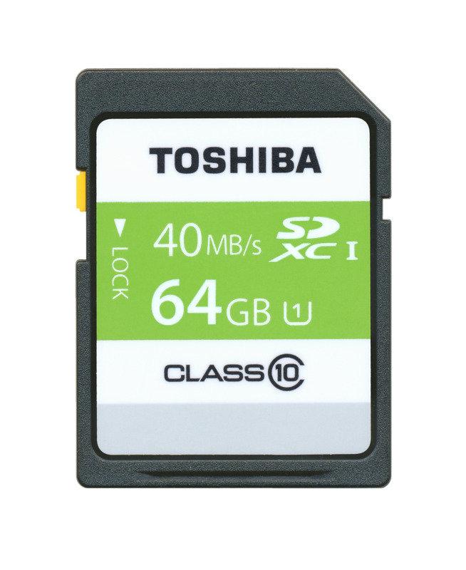 Toshiba 64GB HS Professional UHS1 SDXC Card
