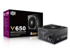 Coolermaster V650 Semi-Modular 80 Plus Gold Power Supply