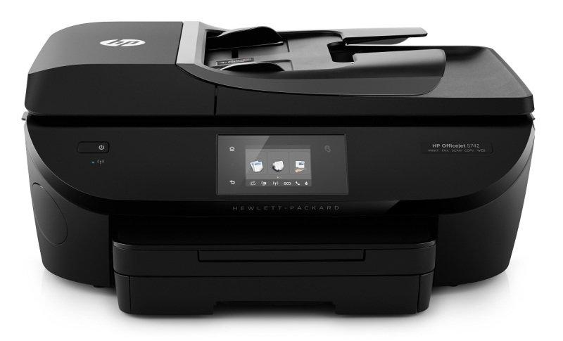 Image of HP Officejet 5742 Wireless e-All-in-One Inkjet Printer