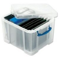 Really Useful 35 Litre Plastic Storage Box - 310x390x480mm
