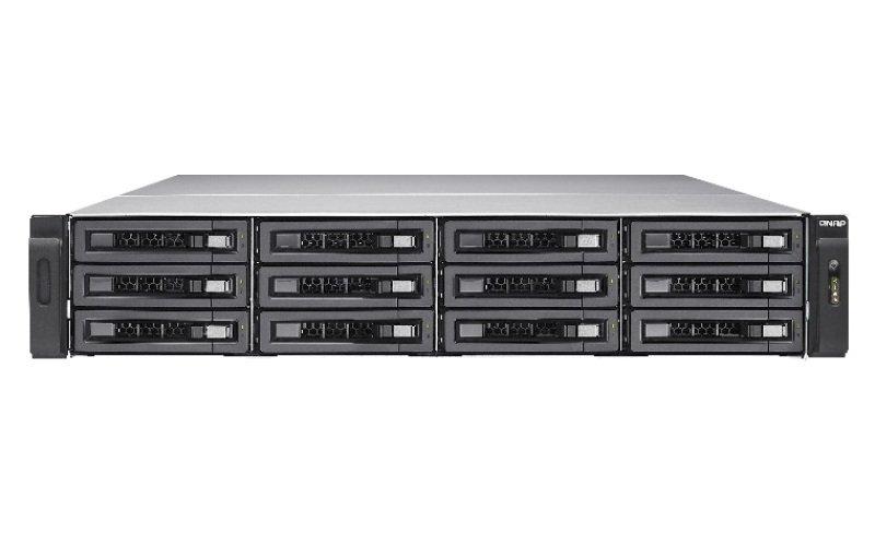 QNAP TVS-EC1280U-SAS-RP 60TB (12x5TB WD RED PRO) 12 Bay 2U Rack 16GB RAM