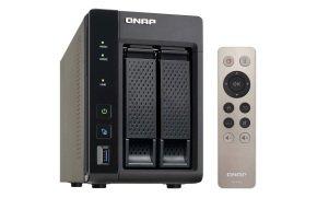 QNAP TS-253A-4G 6TB (2 x 3TB WD RED) 4GB RAM 2 Bay Desktop NAS
