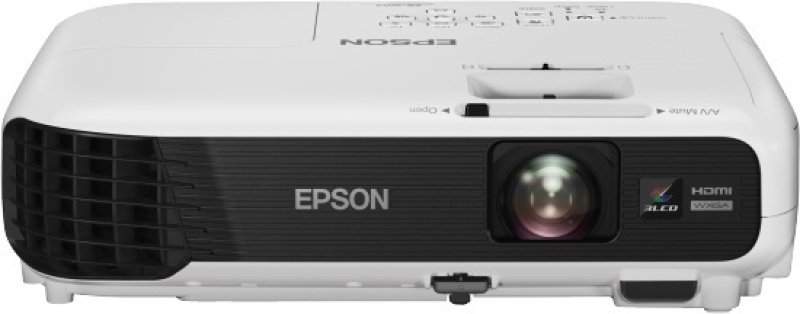 Image of Eb-w04, Projectors, Mobile/nogaming, Wxga, 1280 X 800, 16:10, Hd Ready, 3,000 Lumen-2,100 Lumen (economy), 15,000 : 1, Cinch Audio In, Wireless Lan Ieee 802.11b/g/n (optional), Hdmi In, S-video In, Usb 2.0 Type B, Vga In, Composite In, Usb 2.0 Type A, 2.4