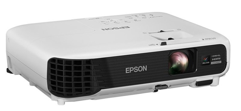 Image of Epson Eb-u04, Projector, Mobile/nogaming, Wuxga, 1920 X 1200, 16:10, Full Hd, 3,000 Lumen-2,100 Lumen (economy), 15,000 : 1, Composite In, Usb 2.0 Type A, Cinch Audio In, Wireless Lan Ieee 802.11b/g/n (optional), Hdmi In (2x), Mhl, Usb 2.0 Type B, Vga In,
