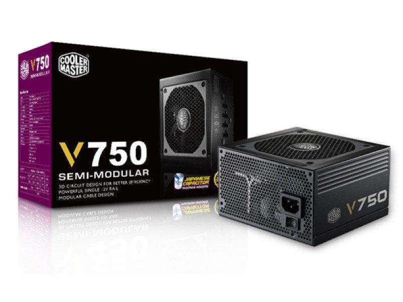 Cooler Master V750w Fully Modular 80 Plus Gold Power Supply Ebuyercom