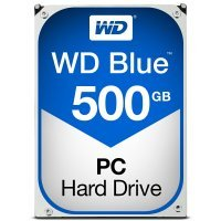 "WD Blue 500GB 3.5"" SATA Desktop Hard Drive"