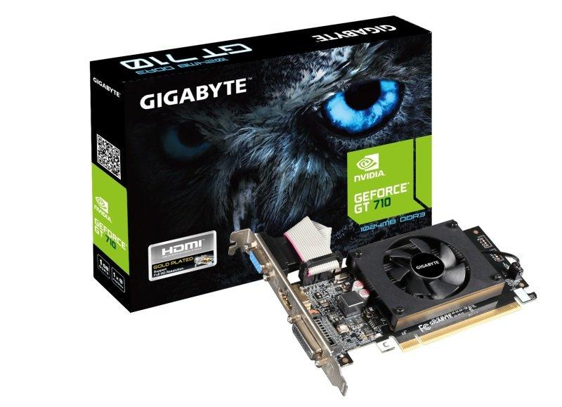 Gigabyte GeForce GT 710 1GB DDR3 Graphics Card