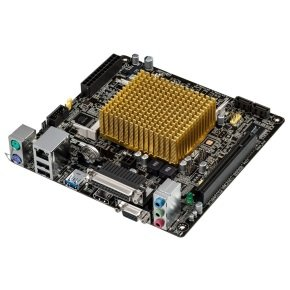 Asus J1800I-A Intel Celeron dual-core J1800 VGA HDMI  8-Channel HD Audio Mini ITX Motherboard