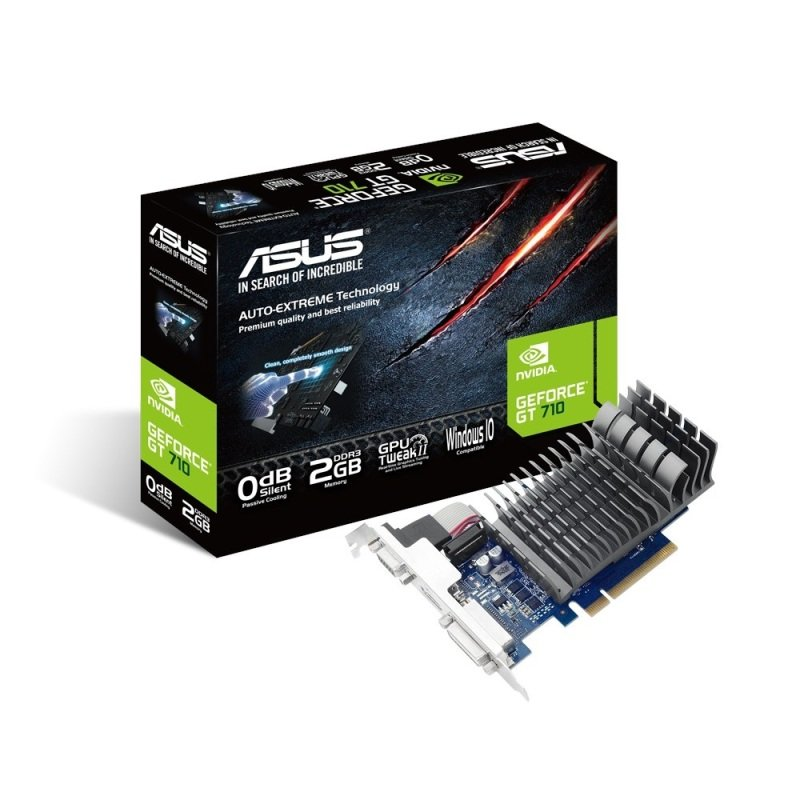 Asus GeForce GT 710 2GB DDR3 VGA DVID HDMI PCIE Graphics card