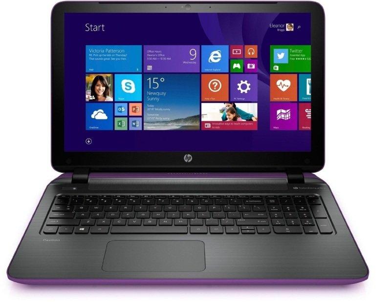 "Image of HP Pavilion 15-P273NA Laptop, AMD A8-6410 2GHz, 4GB RAM, 1TB HDD, 15.6"" LED, DVDRW, AMD R5, WIFI, Webcam, Bluetooth, Windows 8.1 64bit"