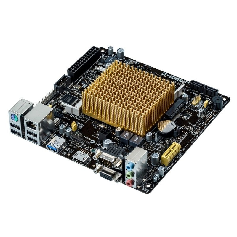 Asus J1900I-C Intel Celeron quad-core J1900 VGA HDMI 8-Channel HD Audio Mini ITX Motherboard