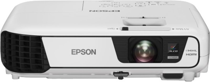 Image of Epson Eb-w32, Projectors, Mobile/nogaming, Wxga, 1280 X 800, 16:10, Hd Ready, 3,200 Lumen-2,240 Lumen (economy), 15,000 : 1, Wireless Lan Ieee 802.11b/g/n, Hdmi In, S-video In, Usb 2.0 Type B, Cinch Audio In, Vga In, Composite In, Usb 2.0 Type A, Mhl, 2.4
