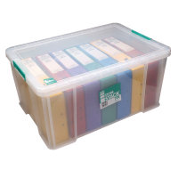 StoreStack 70 Litre Clear Storage Box