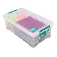 StoreStack 5.8 Litre Clear Storage Box