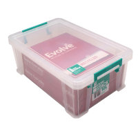 StoreStack 10 Litre Box Clear W400 x D255 x H150mm