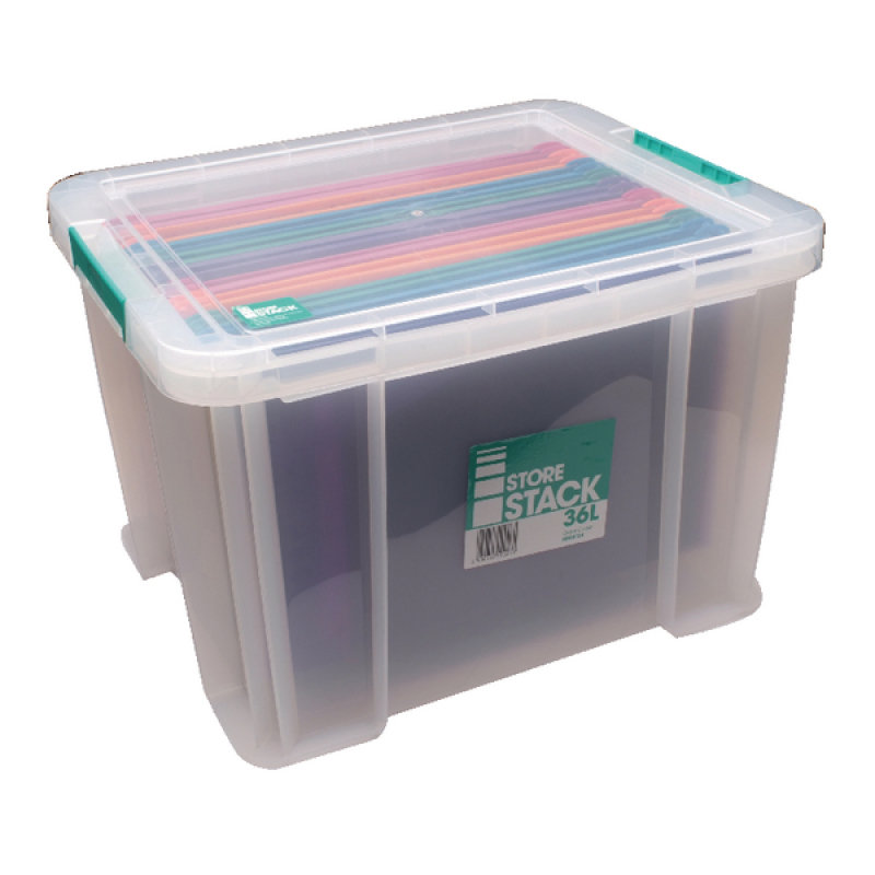 Storestack 36 Litre Storage Box