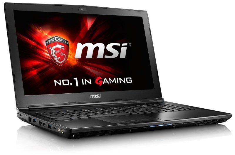 "Image of MSI GL62 (6QC-065) Gaming Laptop, Skylake Intel Core i5-6300HQ 2.3GHz, 8GB DDR4 RAM, 1TB HDD, 15.6"" FHD, DVDRW, nVidia 940MX 2GB, WIFI, Bluetooth, Windows 10 Home 64bit"