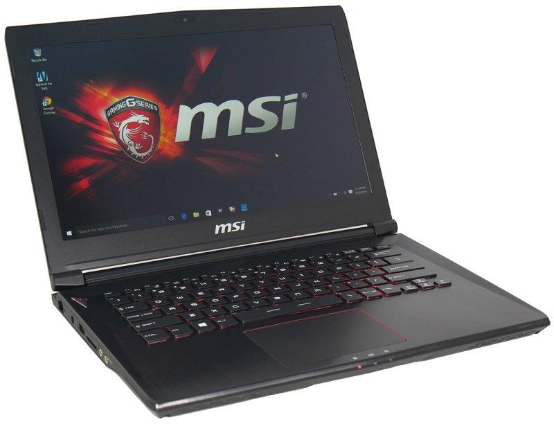 "Image of MSI GS40 6QE 027UK Phantom Gaming Laptop, Intel Skylake i7-6700HQ 2.6GHz, 8GB DDR4 RAM, 128GB SSD, 1TB HDD, 14"" FHD, No-DVD, NVIDIA GTX 970, WIFI, Webcam, Bluetooth, Windows 10 Home 64-bit Edition"