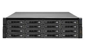 QNAP REXP-1620U-RP 96TB (16 x 6TB WD RED PRO) 16 Bay Rackmount Expansion Unit