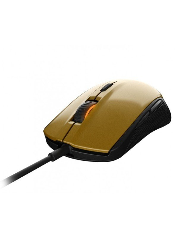 Steelseries Rival 100 Optical Gaming Mouse (alchemy Gold)