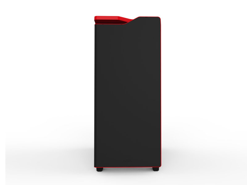 NZXT H440 New Edition Matte Black/Red Case with Side Window