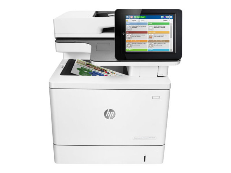 HP M577f Color LaserJet Enterprise Multi-Function Laser Printer with Fax