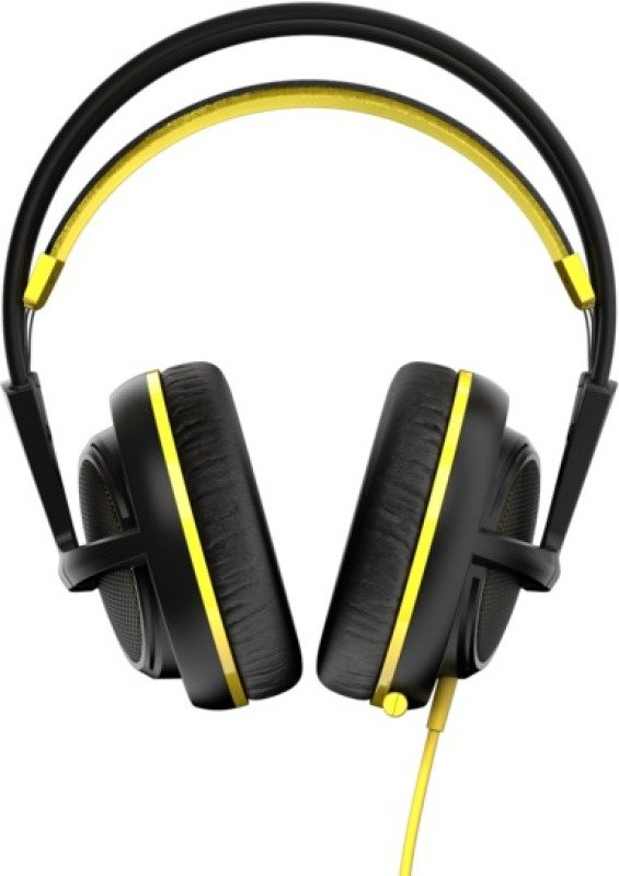 Steelseries Siberia 200 Headset With Retractable Microphone (proton Yellow)