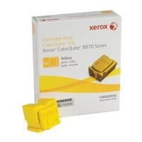 Xerox 108R00956 ColorQube Yellow Solid Inks - Pack of 6