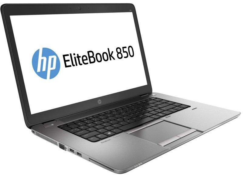 "Image of HP EliteBook 850 G2 Laptop, Intel Core i5-5300U 2.3GHz, 8GB RAM, 256GB SSD, 15.6"" LED, No-DVD, AMD R7, WIFI, Webcam, Bluetooth, Windows 7 / 8.1 Pro 64bit"