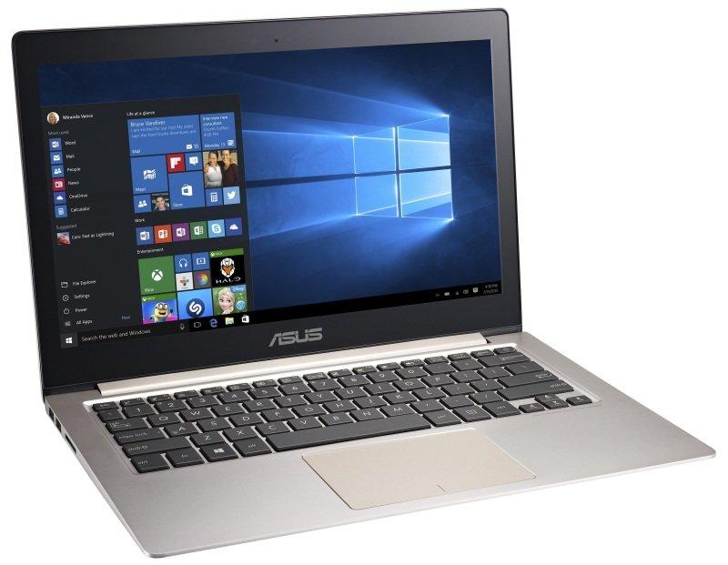 "Image of Asus Zenbook UX303UA Laptop, Intel Core i7-6500U 2.5GHz, 12GB RAM, 256GB SSD, 13.3"", No ODD, Webcam, Bluetooth, Windows 10 64bit"