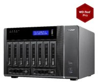 QNAP TVS-EC1080-E3-16G 50TB (10x5TB WD RED PRO) 10 Bay NAS 16GB RAM