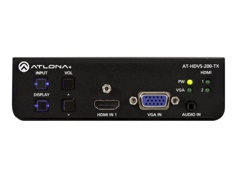 Image of HDMI 2x Inpu t+ VGA Switch ctrl HDBaseT O/P