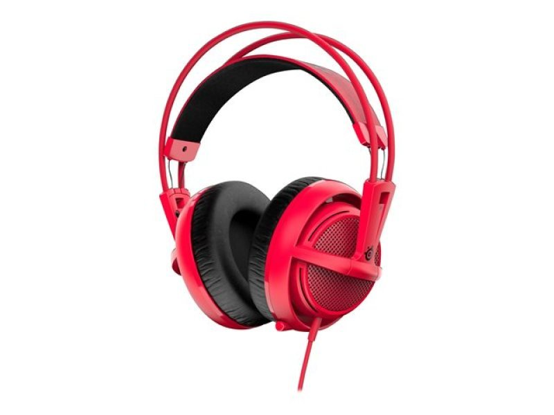Steelseries Siberia V2 200 Headset (forged Red) With Retractable Microphone