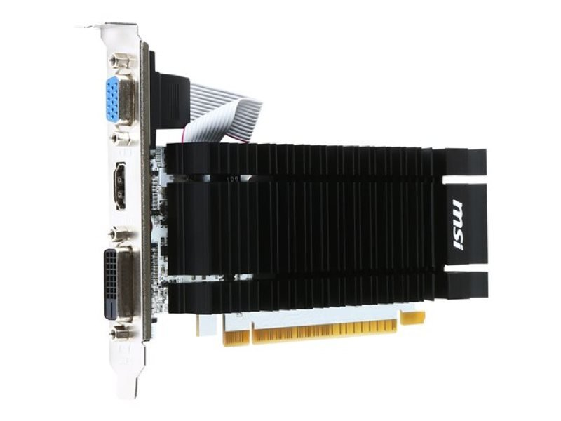 MSI GeForce GT 730 2GB DDR3 VGA Dual-Link DVI-D HDMI PCI-E Graphics Card