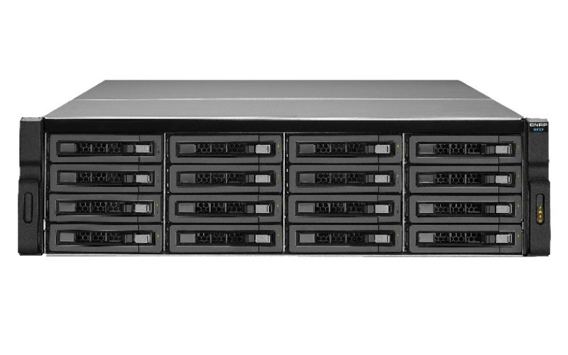 QNAP REXP-1620U-RP 48TB (16 x 3TB WD RED PRO) 16 Bay Rackmount Expansion Unit