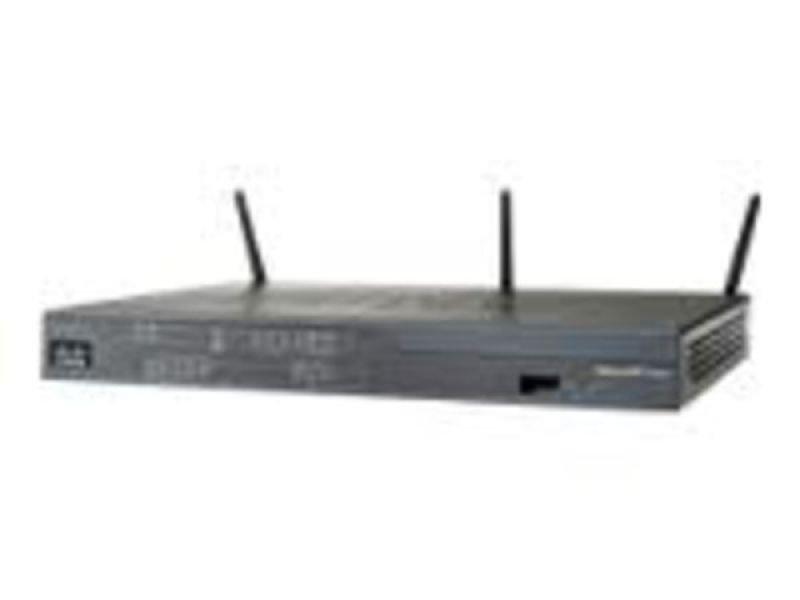 Cisco 887VA Annex A router with VDSL2/ADSL2+ over POTS