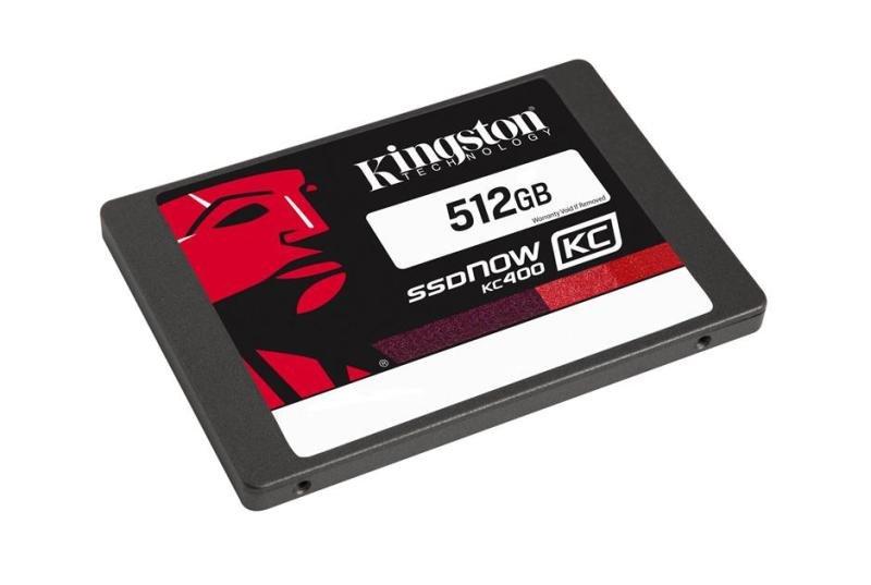 Kingston 512GB SSDNow KC400 SATA3 2.5inch SSD