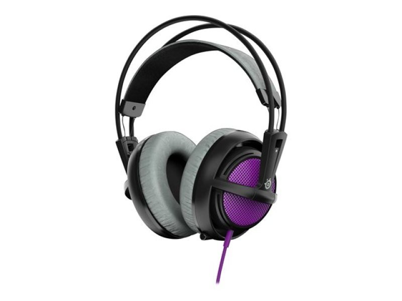 Steelseries Siberia 200 Headset With Retractable Microphone (sakura Purple)