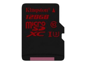 Kingston 128GB UHS-I U3 microSDHC/SDXC Card + Adapter