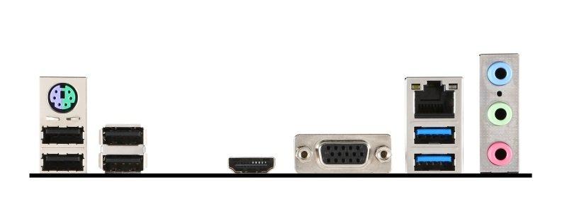 EXDISPLAY MSI H110M PRO-VH Socket LGA 1151 VGA HDMI 8-channel HD Audio Motherboard
