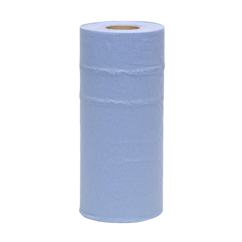 2Work 10 Inch Paper Roll Blue